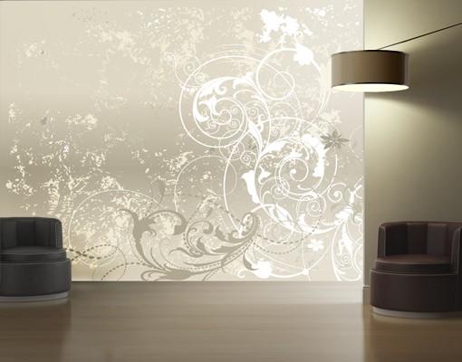 mustertapete selbstklebend perlmutt ornament design. Black Bedroom Furniture Sets. Home Design Ideas