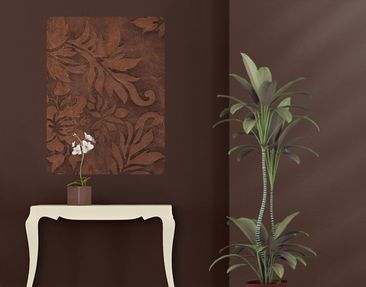 Produktfoto Wall Mural Leather Structure