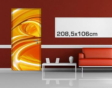 Product picture Door Photo Wall Mural Orchad Road