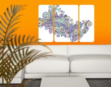 Product picture Wall Mural Blossom Flush Triptych II