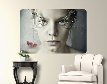 Produktfoto Wall Mural Emotional Woman