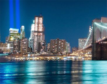 Product picture Window Mural Lights Of The World Trade...