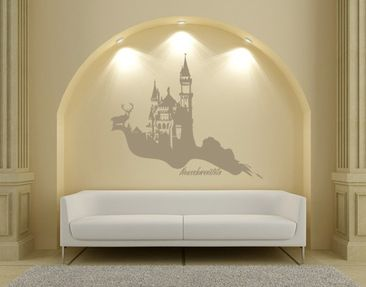 Product picture Wall Decal no.UL709 Neuschwanstein
