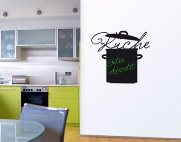 Product picture Wall Decal Chalkboard no.UL715 Kitchen 2