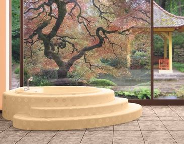 Produktfoto Window Mural Japanese Garden