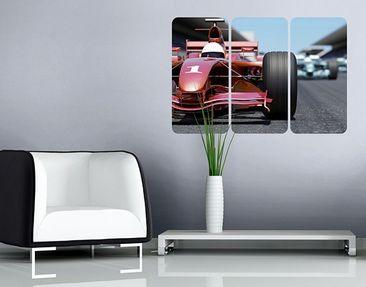 Produktfoto Wall Mural Finish Line Triptych I