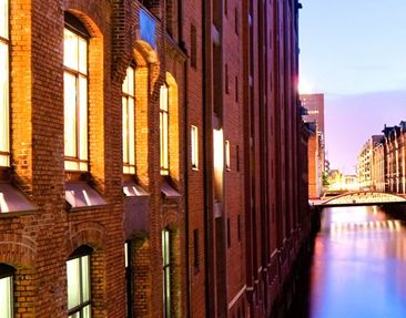 Product picture Wall Mural Hamburg Speicherstadt