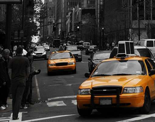 Produktfoto Selbstklebendes Wandbild Klassisches NYC