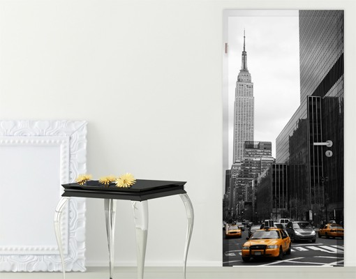 t rtapete new york klassisches nyc. Black Bedroom Furniture Sets. Home Design Ideas