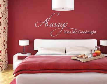 Product picture Wall Decal no.RS53 Always Kiss