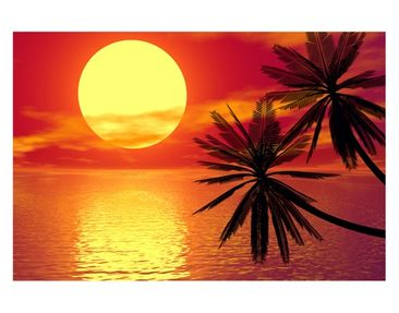 Product picture Window Mural Caribbean Sunset