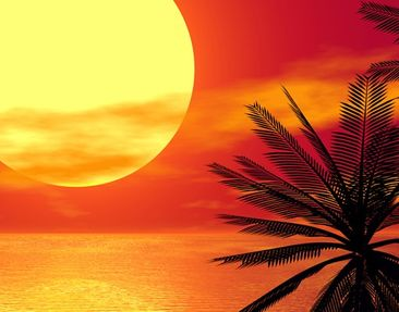 Product picture Wall Mural Caribbean Sunset
