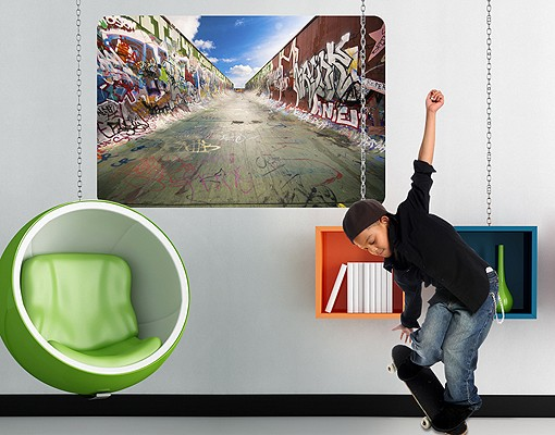 Produktfoto Selbstklebendes Wandbild Skate Graffiti