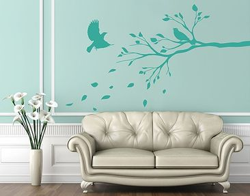 Produktfoto Wall Decal no.RS65 Branch In Autumn