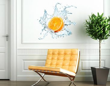 Produktfoto Wall Decal no.434 Fresh Orange