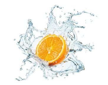 Product picture Wall Decal no.434 Fresh Orange