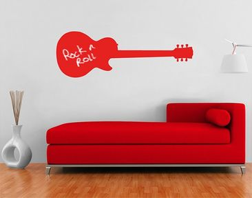 Product picture Wall Decal Chalkboard no.AC78 Guitar