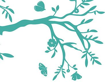 Product picture Wall Decal no.RS75 Branch With...