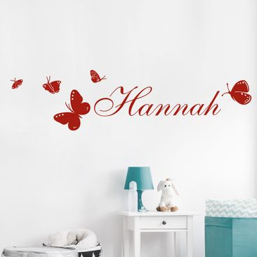 Produktfoto Wall Decal no.RS77 Your Own Words Name...