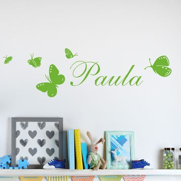 Product picture Wall Decal no.RS77 Your Own Words Name...