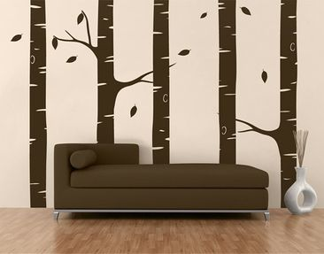 Produktfoto Wall Decal no.AC86 Birch Forest