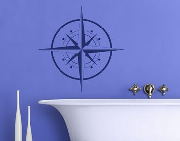 Produktfoto Wall Decal no.IS143 Compass