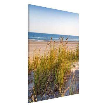 Product picture Magnetic Board - Beach Dune At The Sea -...