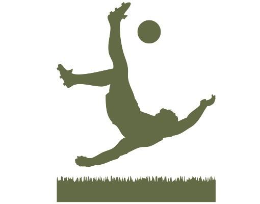 Wandtattoo Fussball Kinderzimmer No 1033 Fussballer In Aktion