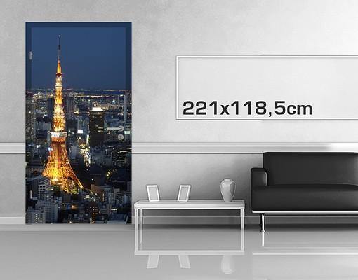 Produktfoto TürTapete Tokyo Tower