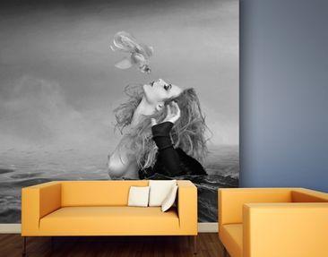 Produktfoto Photo Wall Mural Kiss Of A Goldfish II