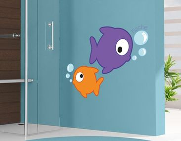Produktfoto Wall Decal no.FB162 Fishes