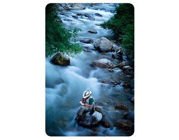 Product picture Wall Mural Fly-Fishing In Colorado