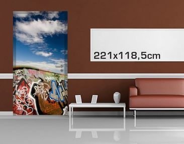 Product picture Door Photo Wall Mural Paradise For...