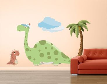 Produktfoto Wall Decal no.MW90 Dino Gang Tiny And...