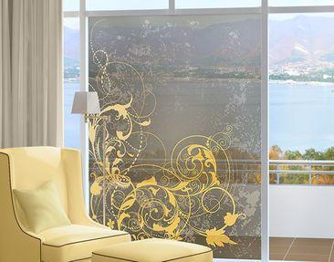 Immagine del prodotto Decorazione per finestre Curlicues In Gold
