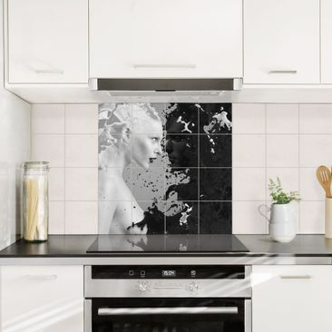Product picture Tile Mural Milk & Coffee II