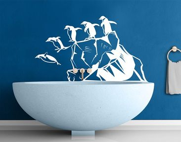 Product picture Wall Decal no.MW105 Adventurous Penguins