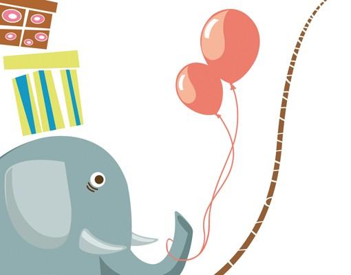 Produktfoto Wandtattoo Elefant No.MW106 Zirkusattraktion