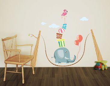 Produktfoto Wall Decal no.MW106 Circus Attraction