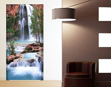 Produktfoto Türtapete Wasserfall selbstklebend - Nationalpark