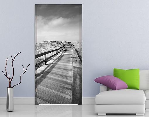 Produktfoto Türtapete Strand - Nordseespaziergang...