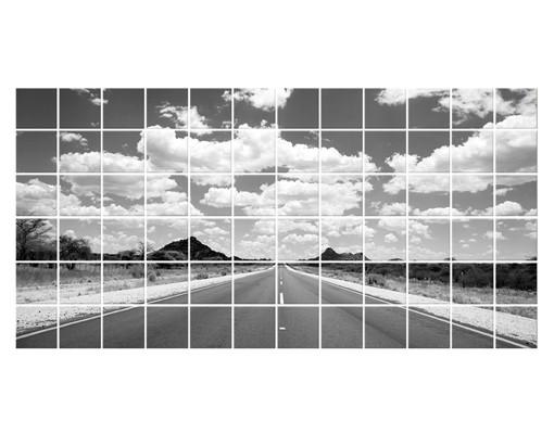 Produktfoto Fliesenbild Route 66 II