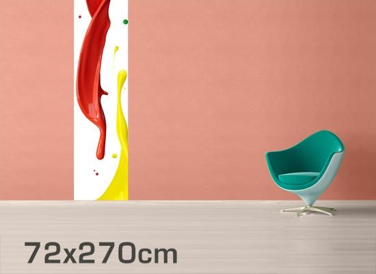 kindertapete selbstklebend farbspritzer. Black Bedroom Furniture Sets. Home Design Ideas