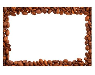 Product picture Wall Decal no.446 Coffeebeans Frame