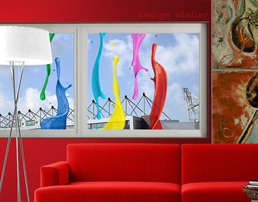Produktfoto Window Sticker no.473 Colour Splash