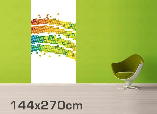 selbstklebende tapete fototapete digitale welle. Black Bedroom Furniture Sets. Home Design Ideas