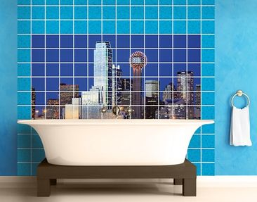 Product picture Tile Mural Dallas