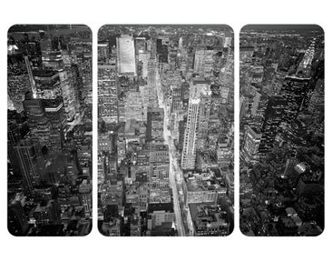 Product picture Wall Mural Midtown Manhattan II Triptych...