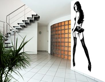 Produktfoto Photo Wall Mural Asian Pin-up Girl
