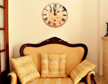 Produktfoto Wall Decal no.496 Roman Clock